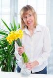 Springtime Daffodils Royalty Free Stock Photos