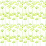 Springtime Dandelion Seamless Pattern. Background Royalty Free Stock Image