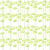 Springtime Dandelion Seamless Pattern Royalty Free Stock Image