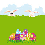 Springtime Easter holiday wallpaper Stock Photo
