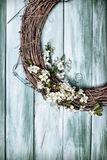 Springtime Garland Royalty Free Stock Images