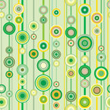 Springtime green pattern. Springtime green seamless pattern (background Royalty Free Stock Photo
