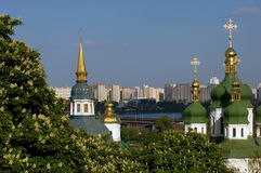 Springtime in Kiev Stock Image