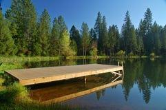 Springtime lakeshore Royalty Free Stock Photo