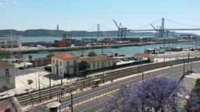 Springtime Lisbon Royalty Free Stock Images