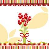Springtime love greeting card Stock Photography