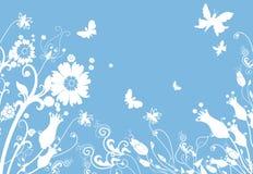 Springtime meadow. Illustration royalty free illustration