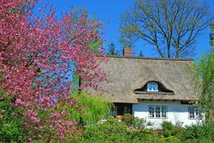 Springtime in Northern Germany Royalty Free Stock Photography