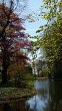 springtime park Stock Image