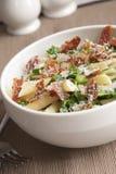 Springtime pasta royalty free stock image
