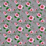 Springtime seamless patern Royalty Free Stock Image