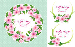Springtime set Royalty Free Stock Images