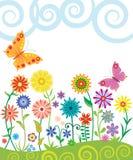 Springtime, summer banner Stock Photography