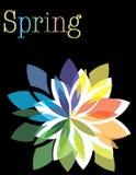 Springtime Swirl Stock Photos