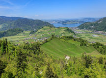 Springtime view in Nidwalden Royalty Free Stock Photography