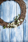 Springtime Wreath Stock Photos