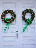Springtime Wreaths Royalty Free Stock Photos