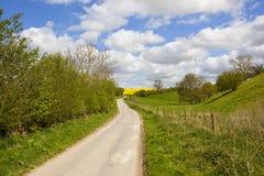 Springtime yorkshire landscape Royalty Free Stock Image
