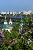 Springtimes in Kiev stock images