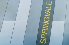 Springvale suburban train station in Melbourne, Australia Stock Photography