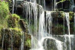 Springwaterfall fotografia stock
