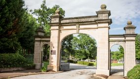 Springwood Cemetery Time Lapse Video Royalty Free Stock Photography