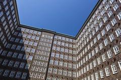 Sprinkenhof στο Αμβούργο, Γερμανία Στοκ εικόνα με δικαίωμα ελεύθερης χρήσης
