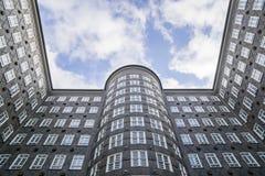 Sprinkenhof building at Kontorhausviertel in Hamburg Germany Royalty Free Stock Photography