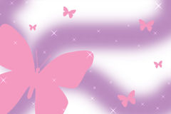 Sprinkle butterfly background Royalty Free Stock Photos
