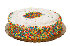 Sprinkle Cake Stock Images