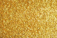 Sprinkle glitter gold dust background