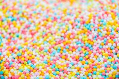 Sprinkle sugar for cake cooking background Selective focus Stock Images