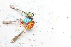 Sprinkle a teaspoon Royalty Free Stock Photo