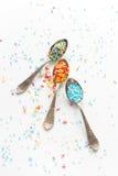 Sprinkle a teaspoon Stock Photos