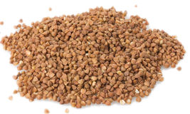 Sprinkled buckwheat Royalty Free Stock Image