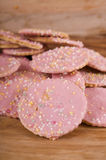 Sprinkled Cookies Royalty Free Stock Photos