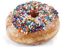 Sprinkled Donut Royalty Free Stock Photo