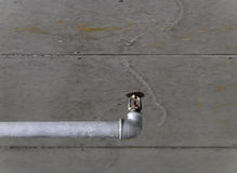 Sprinkler. On a concrete ceiling Royalty Free Stock Photo