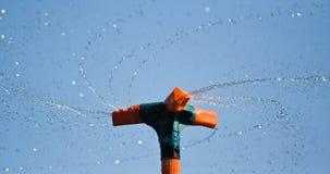 Sprinkler. Close up of a sprinkler rotating Royalty Free Stock Images