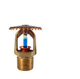 Sprinkler head isolated Royalty Free Stock Photos