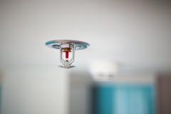 Sprinkler and smoke detector Stock Photography