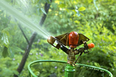 Sprinkler System Royalty Free Stock Photo