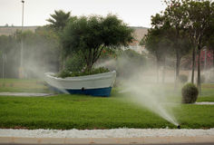 Sprinkler system Royalty Free Stock Images