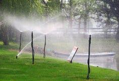 Sprinkler Stock Image