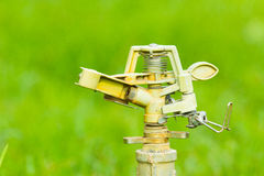 Sprinkler water Royalty Free Stock Photography