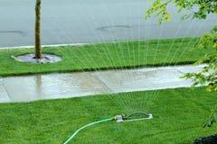 sprinklergata Royaltyfri Fotografi