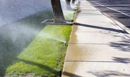 Sprinklers royaltyfria foton
