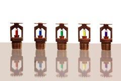 sprinklers royaltyfria bilder