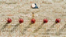 sprinklersystem Arkivfoto