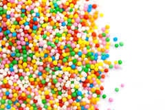 Sprinkles. Colorful sprinkles with copy space Stock Photography